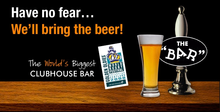 Have no fear... We'll bring the beer!